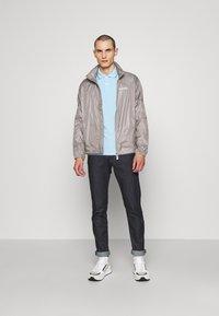 Emporio Armani - BLOUSON JACKET - Summer jacket - beige - 1