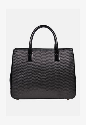 HOCHWERTIGE - Handtasche - schwarz