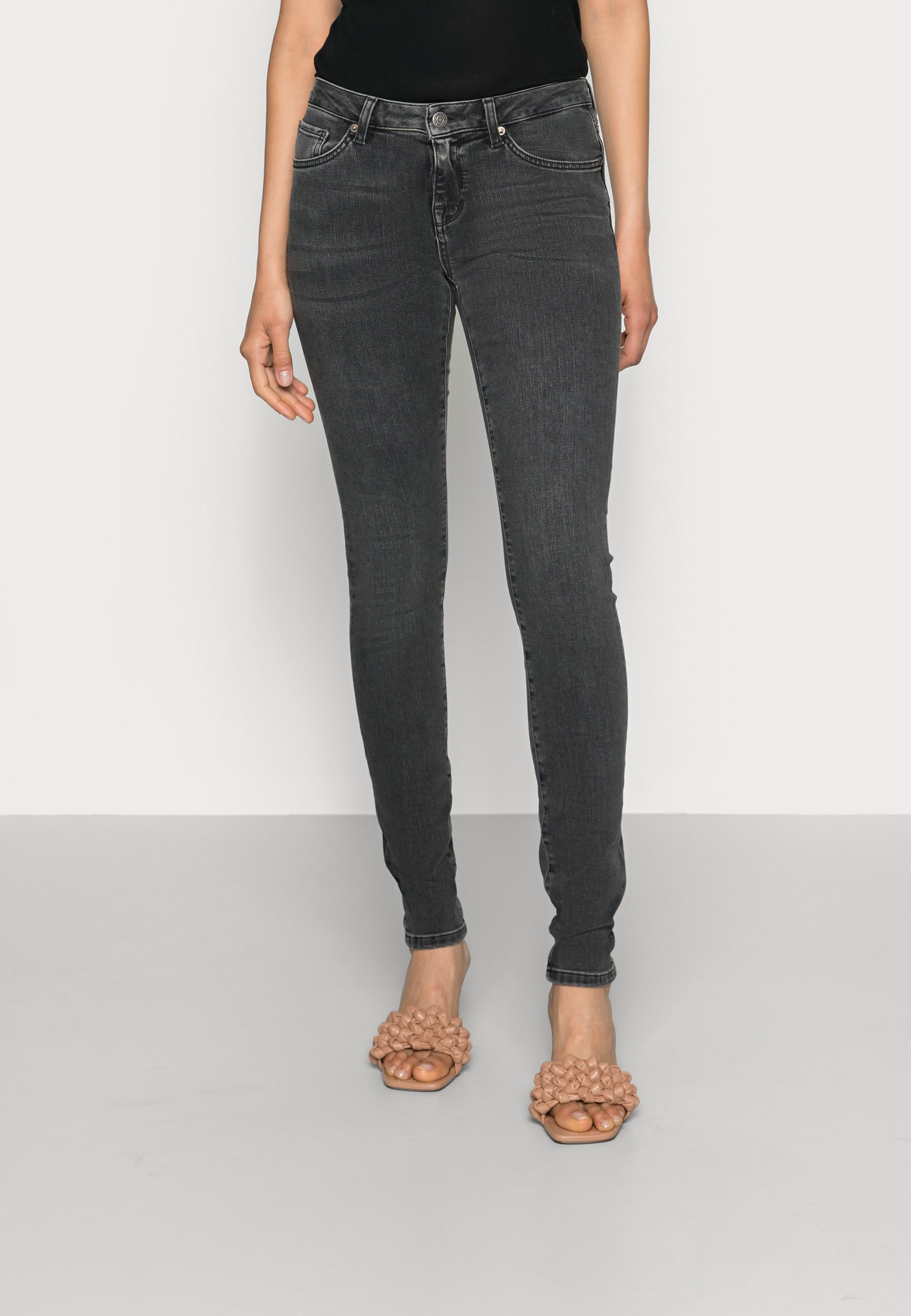 Damen SLFIDA SMOKE - Jeans Skinny Fit
