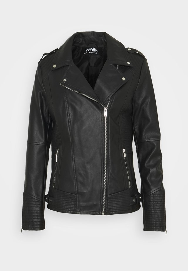 DARCEY BIKER - Veste en cuir - black
