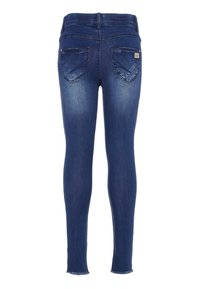 Name it - SUPER STRETCH - Vaqueros pitillo - dark blue denim