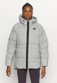 adidas Performance - URBAN COLD RDY OUTDOOR JACKET 2 IN 1 - Down jacket - grey - 3