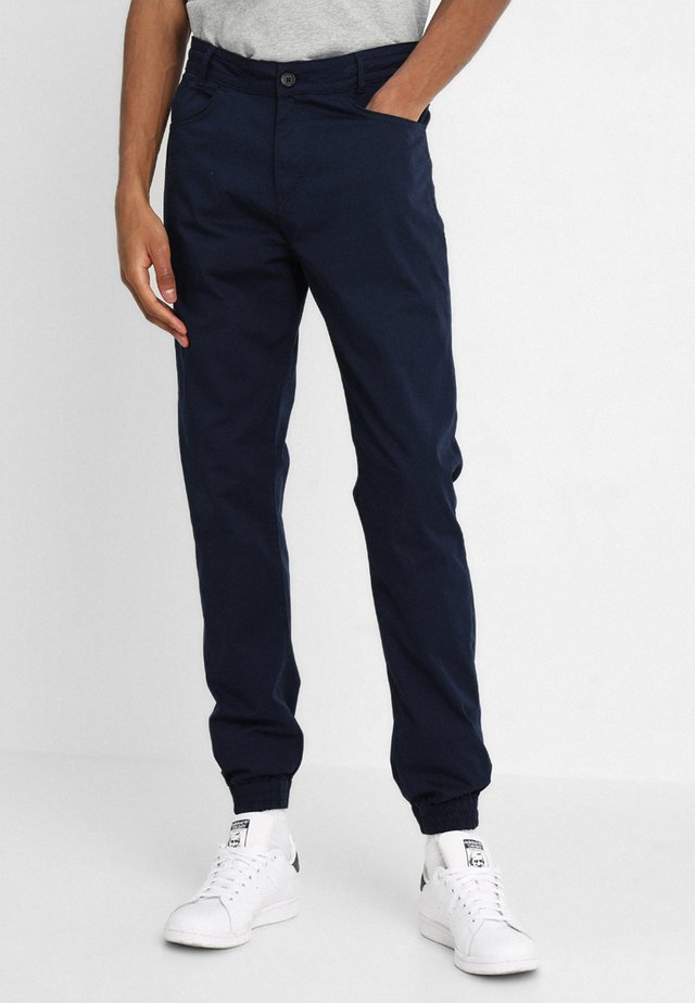 NAUTICAL TROUSERS - Pantaloni - dark navy