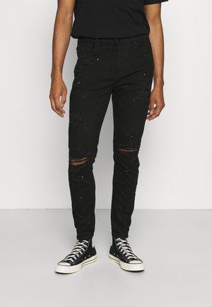 INWOOD  - Slim fit jeans - jet black