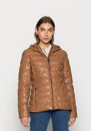 SOLARBALL - Winter jacket - karamell