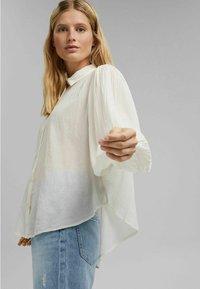 Esprit - Button-down blouse - off white - 5