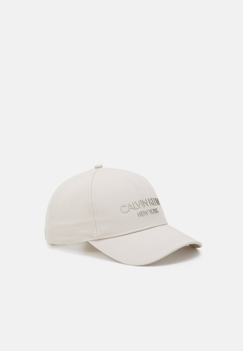 Calvin Klein - UNISEX - Cap - bleached stone