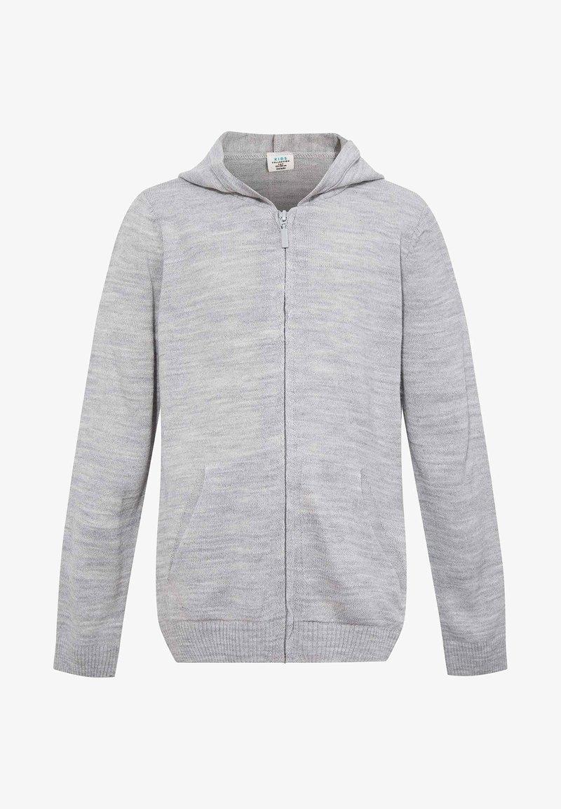 DeFacto - Hoodie met rits - grey