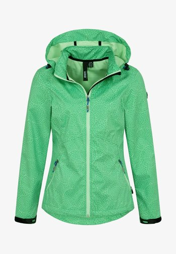 Waterproof jacket - grün