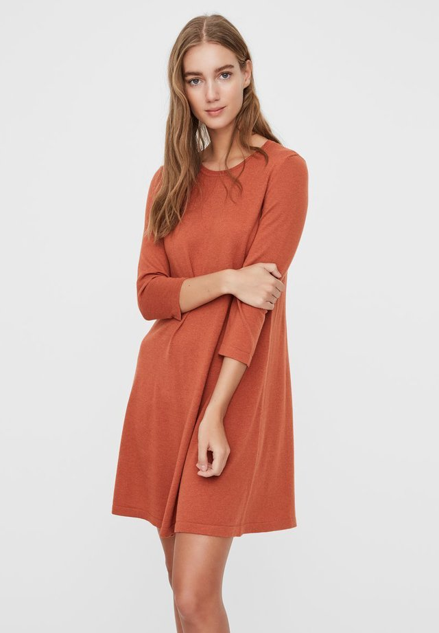 Jumper dress - auburn