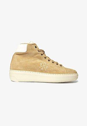 Zapatillas altas - marrón