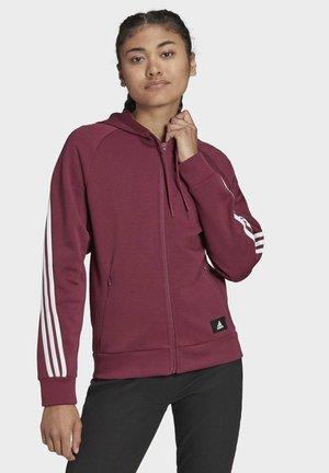 FUTURE ICONS - Zip-up sweatshirt - brown