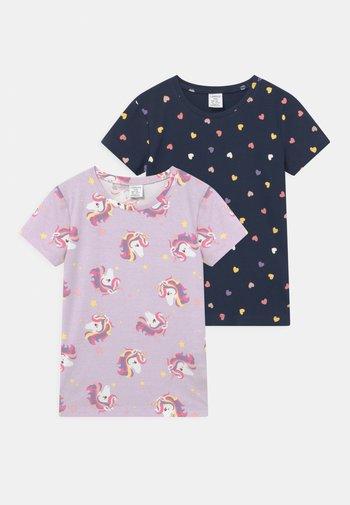 MINI 2 PACK - T-shirts print - navy