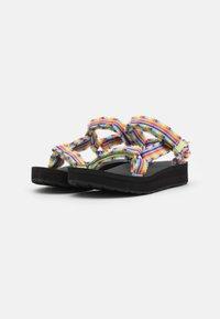 Teva - MIDFORM FRAY - Sandales de randonnée - frazier black/multicolor - 1