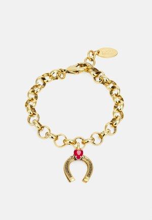 BRACELET - Bracelet - gold-coloured/red