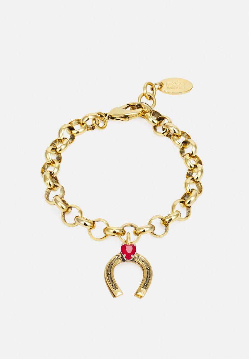 Radà - BRACELET - Bracelet - gold-coloured/red
