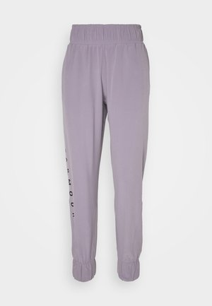 GRAPHIC PANTS - Tracksuit bottoms - slate purple