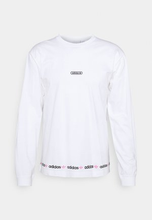 LINEAR REPEAT ORIGINALS LONG SLEEVE - Longsleeve - white