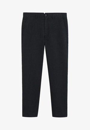 OYSTER - Pantalon classique - schwarz