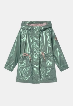 KID - Waterproof jacket - khaki metallic