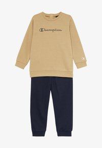 Champion - CHAMPION X ZALANDO TODDLER SET - Tracksuit - sand/black - 5