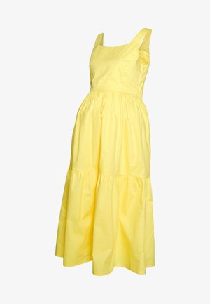 DRESS - Day dress - yellow