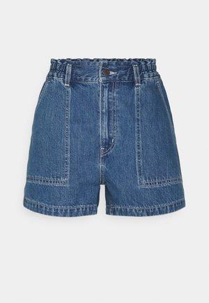 HIGH WAIST A LINE - Jeansshorts - hey friend