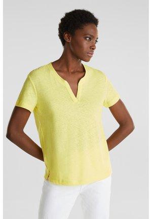 T-shirt basique - bright yellow