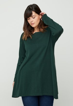 MIT A-PASSFORM - Jumper - green
