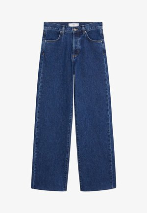 NORA - Flared Jeans - mørkeblå