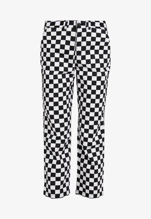 WM AUTHENTIC CHINO PRINT WMN - Kangashousut - white
