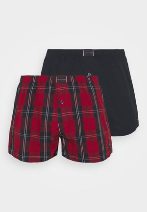 2 PACK - Boxer shorts - red/dark blue