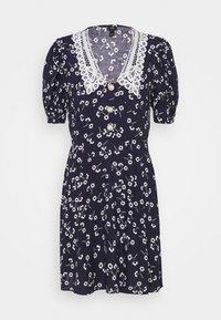 River Island - Shirt dress - dark blue - 4