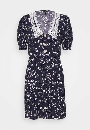 Košilové šaty - dark blue