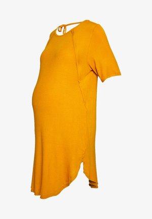 DESTINEE DRESS - Žerzejové šaty - marigold