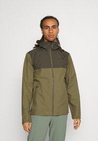 The North Face - APEX FLEX FUTURELIGHT JACKET - Hardshell jacket - olive/taupe - 0