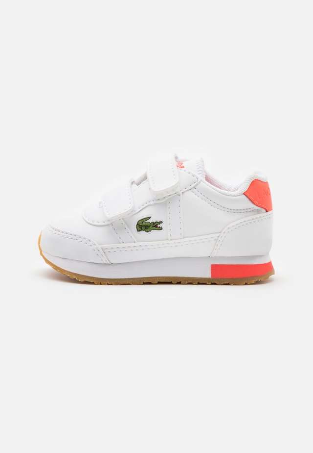 PARTNER  - Trainers - white/pink