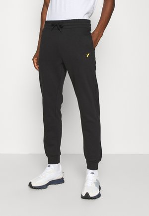 BIRD EMBRO  JOGGERS - Verryttelyhousut - black