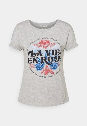 CAMISETA LOGO MARIPOSA - T-shirt print - medium grey