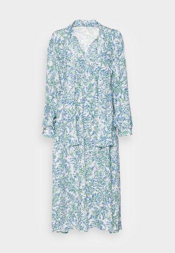 Vestido largo - blue aop