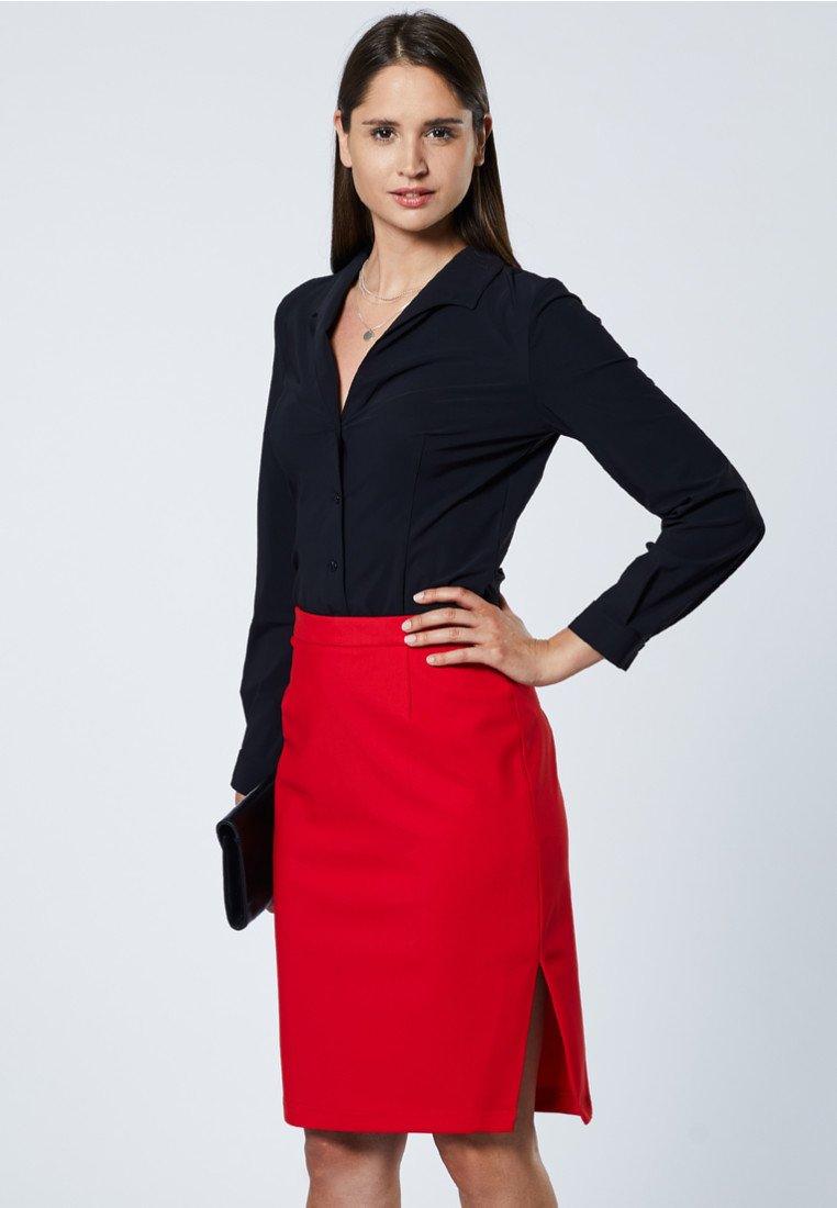 Evita - Jupe crayon - red