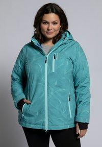 Ulla Popken - Outdoor jacket - turquoise - 1