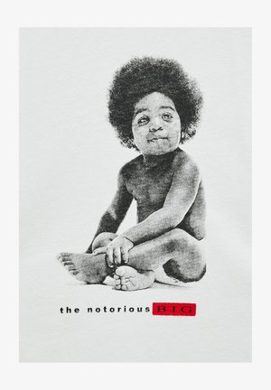 THE NOTORIOUS BIG - T-shirts print - white