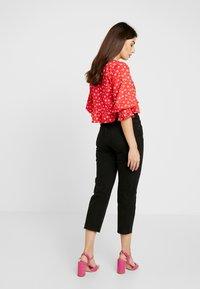 Noisy May Petite - NMJENNA - Straight leg jeans - black - 2