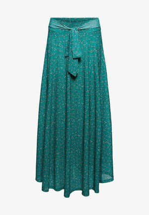 Maxi skirt - teal green