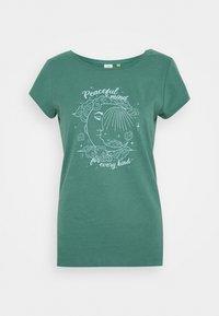 Ragwear - Print T-shirt - dusty green - 4