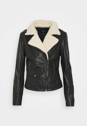 BIBI - Leather jacket - black