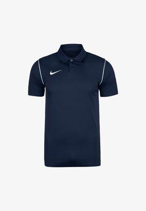 Polo shirt - obsidian / white
