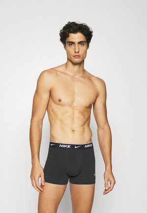 TRUNK 2PK COTTON STRETCH - Pants - black