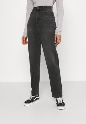 CURVY MOM  - Jeans Tapered Fit - washed black
